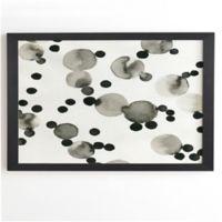 Deny Designs Como Pompas II 20-Inch Square Framed Wall Art