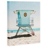 Deny Designs Santa Cruz Summer 8-Inch x 10-Inch Canvas Wall Art