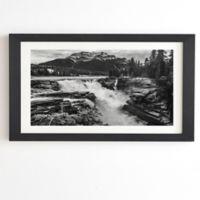 Deny Designs Magda Opoka Mountain View 8-Inch x 9.5-Inch Framed Wall Art