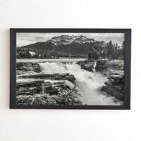 Deny Designs Magda Opoka Mountain View 20-Inch x 20-Inch Framed Wall Art