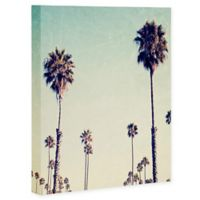 Deny Designs 8-Inch x 10-Inch Bree Madden California Palm Trees Canvas Wall Art