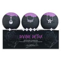Jewel Within 3-Pack Divine Detox Surprise Bath Bomb Gift Set