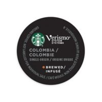 Starbucks® Verismo™ 12-Count Colombia Single Origin Brewed Coffee Pods