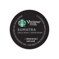 Starbucks® Verismo™ 12-Count Sumatra Single Origin Brewed Coffee Pods
