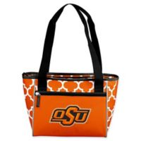 Oklahoma State University Quatrefoil 16-Can Cooler Tote