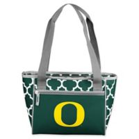 University of Oregon Quatrefoil 16-Can Cooler Tote