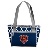 NFL Chicago Bears Quatrefoil 16-Can Cooler Tote