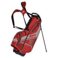 Ohio State University Gridiron III Stand Golf Bag in Red