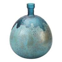 Moe's Home Nix 13-Inch Vase in Dark Blue