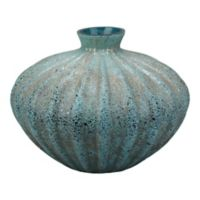 Moe's Home Collection Hydra 10-Inch Vase in Dark Blue