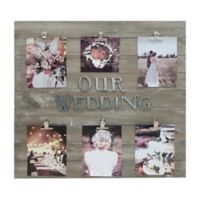 Buy Wedding Collage Frames from Bed Bath & Beyond