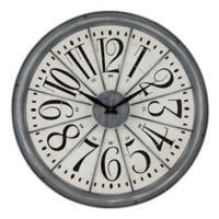 La Crosse™ Alice 20-Inch Wall Clock in Grey