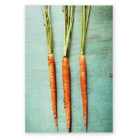 Deny Designs Olivia St. Claire Eat Your Vegetables 8-Inch x 10-Inch Canvas Wall Art