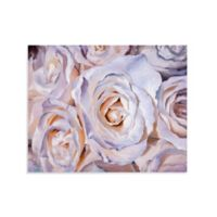 White Roses Canvas Wall Art