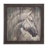His Majesty Framed Canvas Wall Art