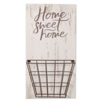 "P. Graham Dunn ""Home Sweet Home"" Wood Wall Art with Basket"