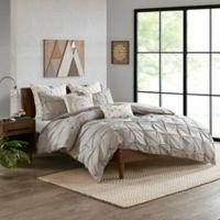 INK+IVY Masie Full/Queen Comforter Set in Grey