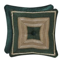 J. Queen New York™ Emerald Isle 18-Inch Square Throw Pillow in Green