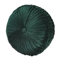 J. Queen New York™ Emerald Isle Tufted Round Throw Pillow in Green