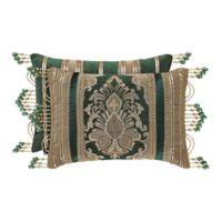 J. Queen New York™ Emerald Isle Boudoir Throw Pillow in Green