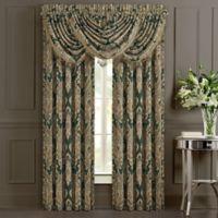 J. Queen New York™ Emerald Isle 84-Inch Rod Pocket Window Curtain Panel Pair in Green