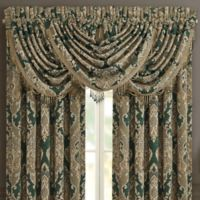 J. Queen New York™ Emerald Isle Waterfall Valance in Green