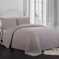 Gweneth 3-Piece Queen Comforter Set in Taupe
