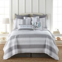 Levtex Home Freeport Reversible Twin Quilt in Grey