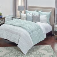 Rizzy Home Georgette Full/Queen Quilt Set in Ivory