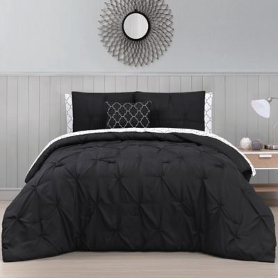 Avondale Manor Bradford Queen Comforter Set In Black