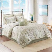 South Bay 6-Piece Twin Comforter Set in Khaki