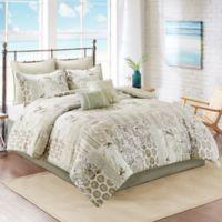 South Bay 8-Piece King Comforter Set in Khaki