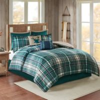 Chapman 8-Piece Full Comforter Set in Green
