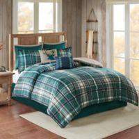Chapman 8-Piece Twin Comforter Set in Green