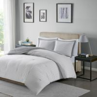 Madison Park Essentials Hayden Reversible Down Alternative Twin Comforter Set in Grey