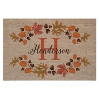 "Autumn 18"" x 27"" Door Mat in Brown"