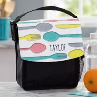 Delightful Dining Personalized Lunch Bag
