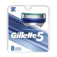 Gillette®5 8-Count Men's Razor Blade Refills