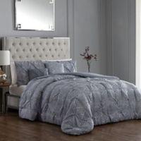 Rory 5-Piece Reversible Queen Comforter Set in Grey