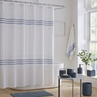 J. Queen New York™ Lulu Shower Curtain in Blue
