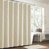 J. Queen New York™ Sicily Shower Curtain in Ivory