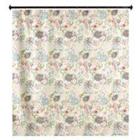 m.style Nightingale Vintage Shower Curtain