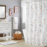 Saturday Knight Greenhouse Leaves Multicolor Shower Curtain