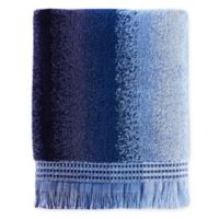 Eckhart Stripe Bath Towel in Blue