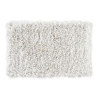 "Jacobean Trail 30"" x 20"" Bath Mat in White"