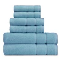 Nautica® 6-Piece Belle Haven Bath Towel Set in Turquoise