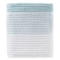 Planet Ombre Bath Towel in Aqua