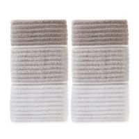 Planet Ombre Hand Towels in Taupe (Set of 2)