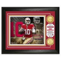 NFL San Francisco 49ers Jimmy Garoppolo Bronze Coin Photo Mint