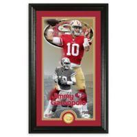 NFL San Francisco 49ers Jimmy Garoppolo Supreme Bronze Coin Photo Mint